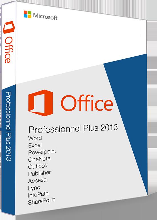 ᐅ Office 2013 Professionnel Plus Achetez clé à bon prix
