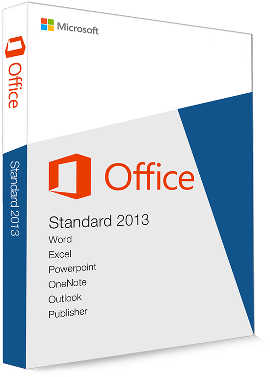 Microsoft Office 2013 Standard 32/64 Bit (Home & Business) - (clé de produit)