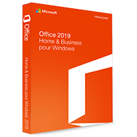 Microsoft Office 2019 Home & Business 32/64 Bit - (clé de produit)