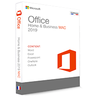 Microsoft Office 2019 Home & Business pour Mac - (clé de produit)